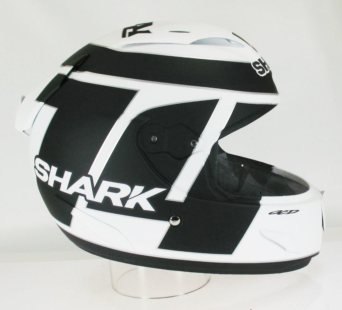 Racing Helmets Garage Shark Race R Pro R Puniet Test Suzuki Motogp By Ocd