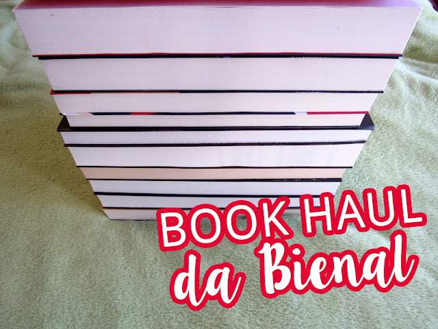 Book Haul da Bienal