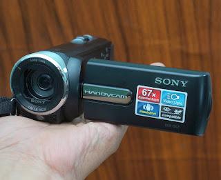 Jual handycam Bekas Sony SX21e