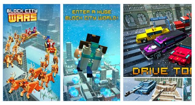 Block City Wars + skins export Mod