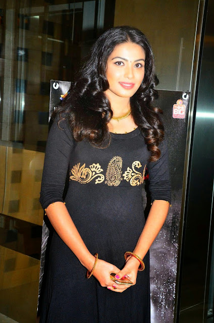 Kavya Setty Stills At Idhu Enna Maayam Movie Audio Launch