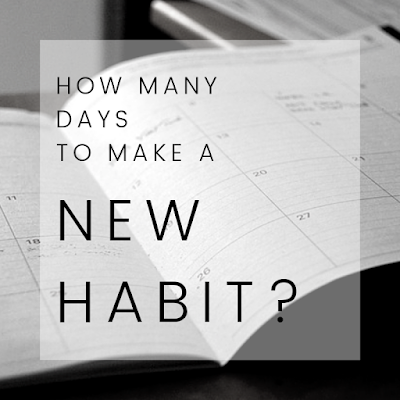 how many days t create a new habit
