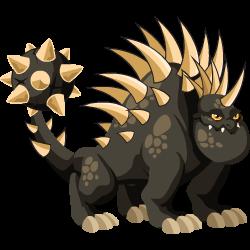 Dragón Erizo (Adulto)