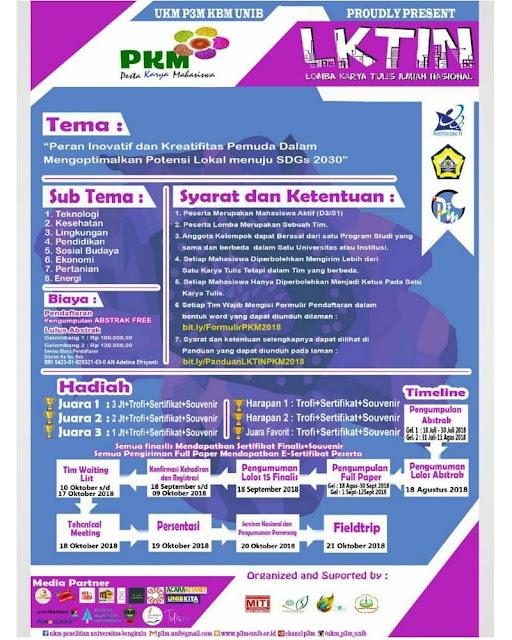 LKTIN Pesta Karya Mahasiswa 2018