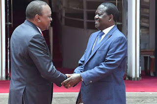 Big win for Ruto as Uhuru finally spills details about Handshake between Him and Raila