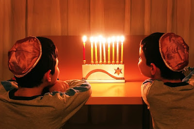 Happy Hanukkah Prayer in English Hebrew