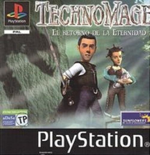 Technomage - El Retorno de la Eternidad - PSX - Portada