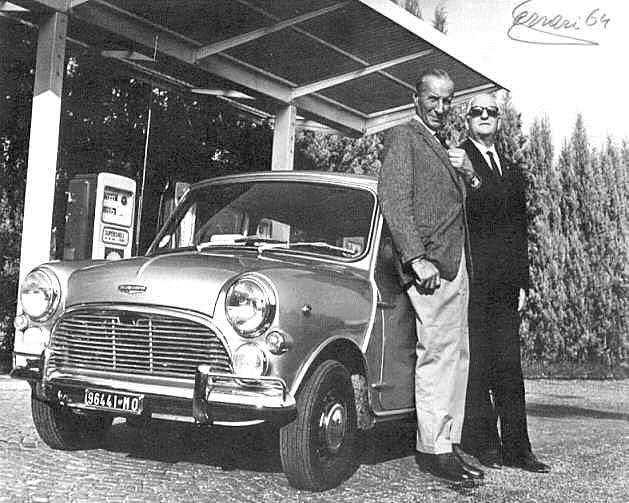 O Ισιγώνης με τον Έντσο Φερράρι, το 1964