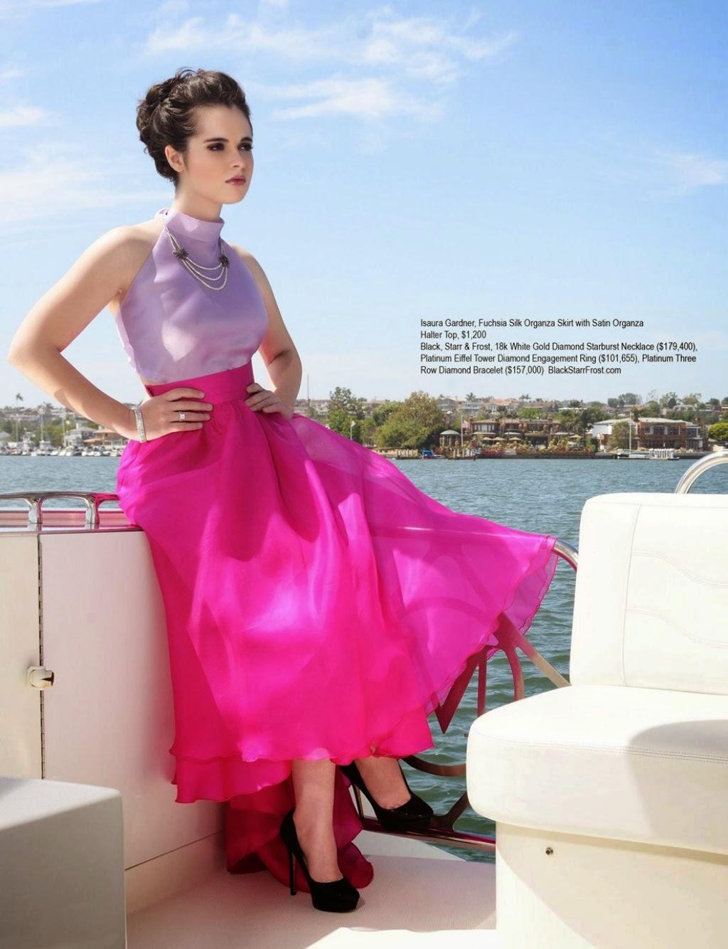 Vanessa Marano Lovely Legs In Beautiful Transparent Gowns For Regard Magazine June 2014