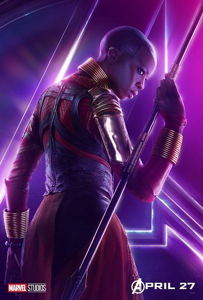 Avengers: Infinity War Okoye