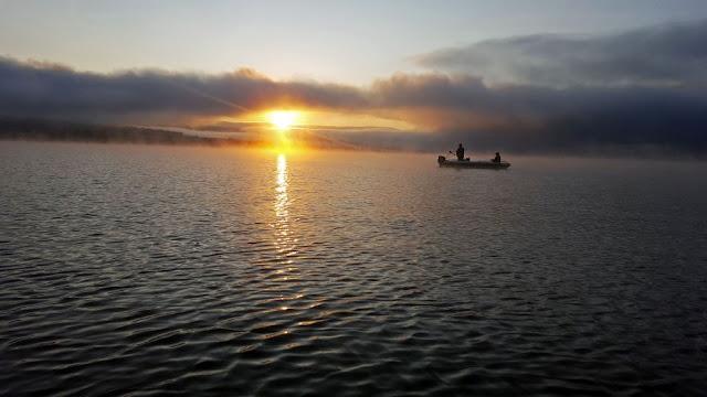 zander fishing in Czorsztyn lake