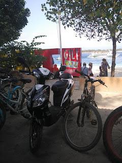 persewaan sepeda di gili trawangan