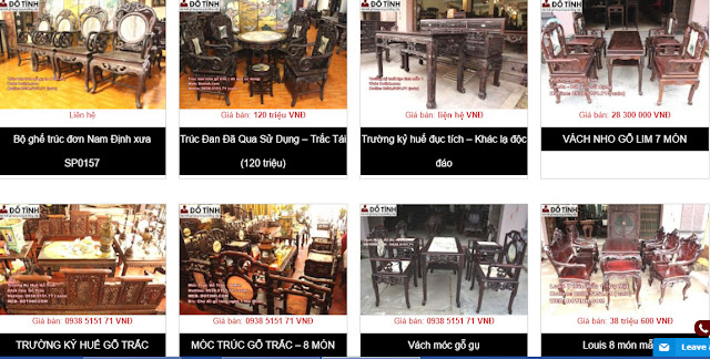 Cửa hàng nội thất Online tại Bắc Giang - www.dotinh.com