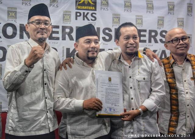 PKS Usung Sutriyono Di Pilwakot Bekasi 2018