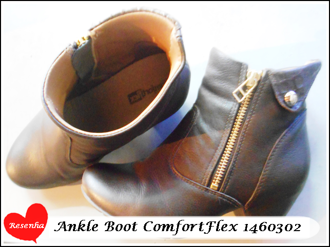 54ece3f7f É uma Ankle Boot que eu estou amando e por isso vim compartilhar com  vocês,vem conferir: