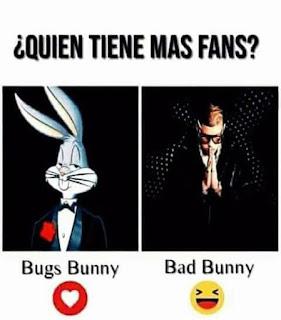 meme bad bunny bugs bunny