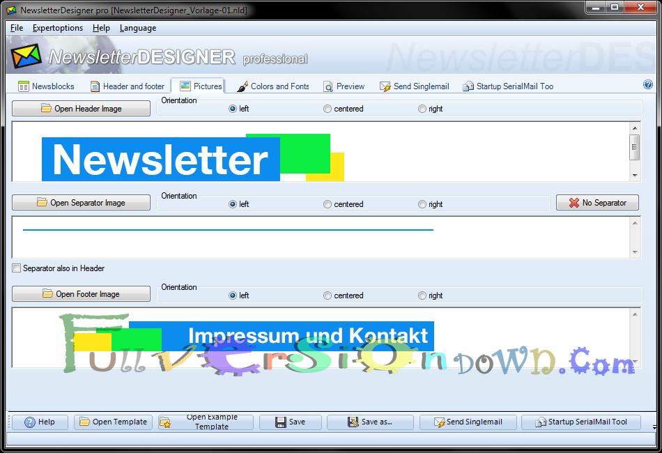 NewsletterDesigner Pro Full Version