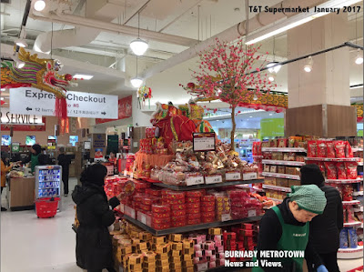 T & T Supermarket - Burnaby Metrotown, January 2017