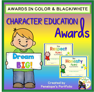 https://www.teacherspayteachers.com/Product/Character-Education-Awards-1909704?utm_source=penelopesportfolio.com&utm_campaign=Character%20Education%20Awards
