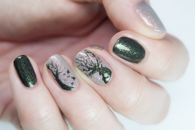 Enchanted Forest by Nailed It @ www.blognailedit.co