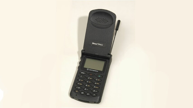 World's First Flip Mobile Phone