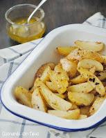 Patatas con vinagreta de limón-cocinando-con-neus