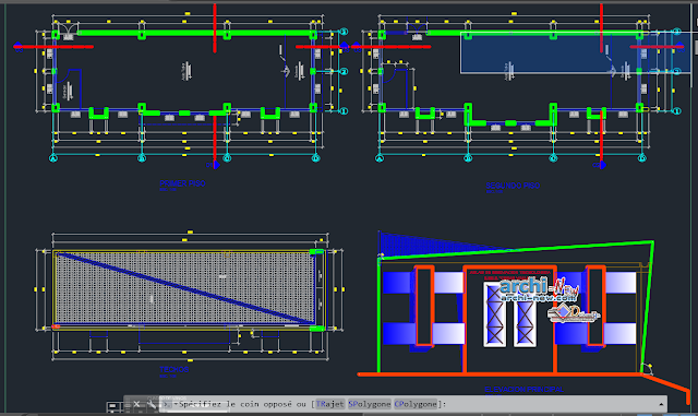 Room of technological innovation in AutoCAD