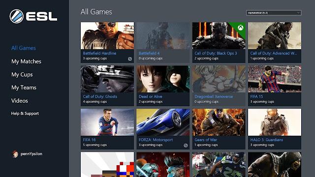 ESL eSports bây giờ có sẵn cho máy tính và điện thoại chạy Windows 10