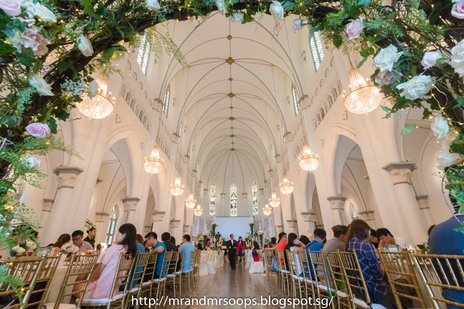 Chijmes Wedding Hall During The Show