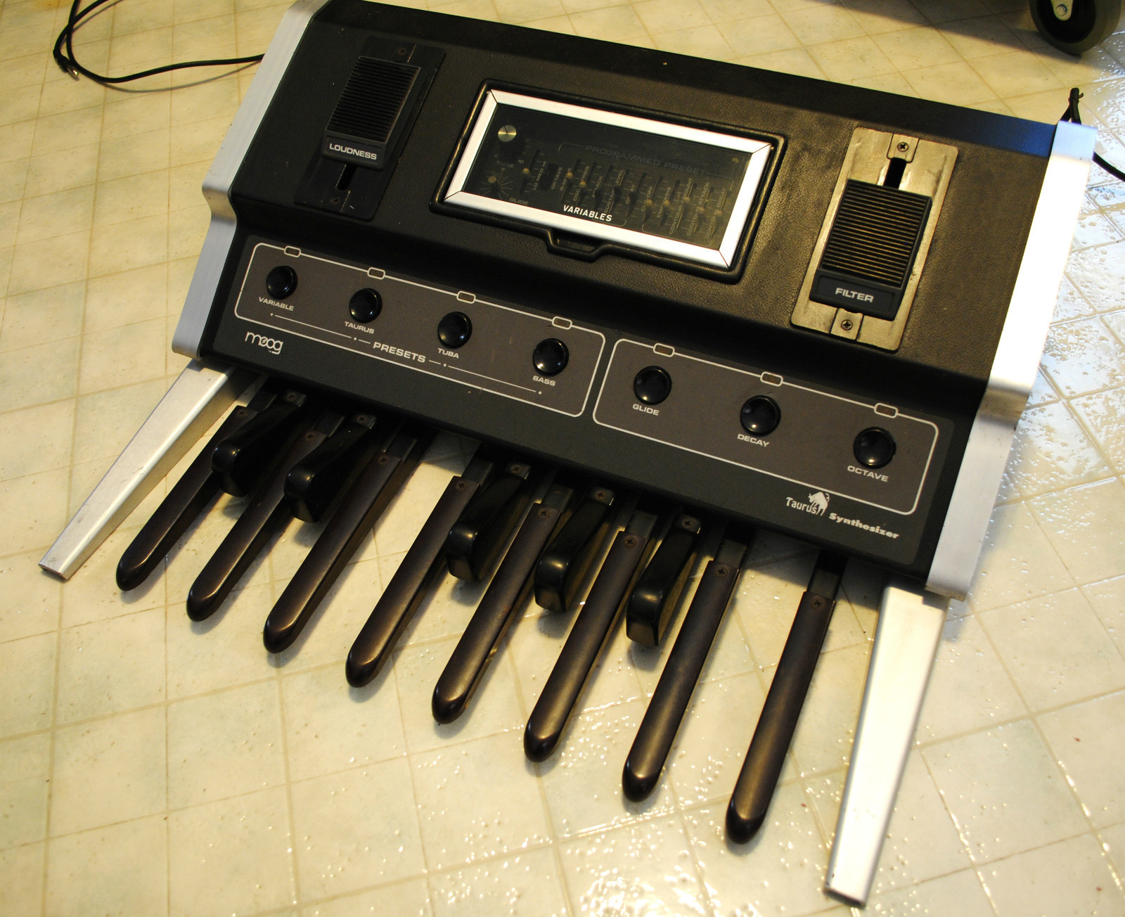matrixsynth vintage moog taurus i synthesizer bass pedals. Black Bedroom Furniture Sets. Home Design Ideas