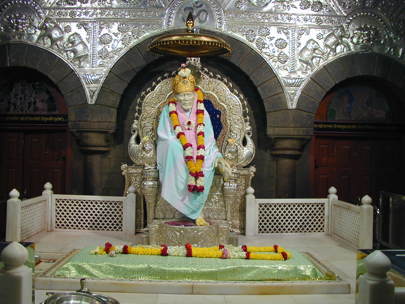 Website for booking passes for Darshan Aarti and rooms in Shirdi