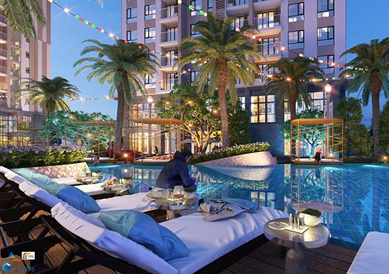 Cabanas at Gem Riverside