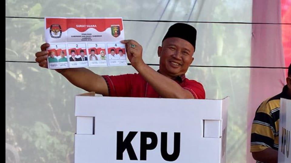 Pilgub Lampung, Mukhlis Basri: Siapapun Terpilih Merupakan Pilihan Rakyat