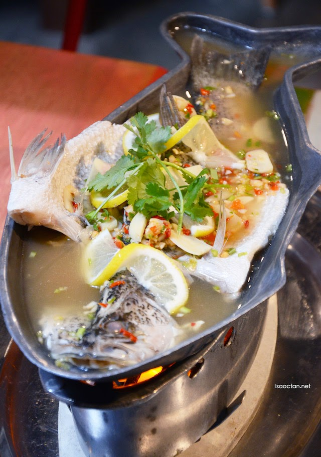 Lemon and Lime Steamed Sea Bass - RM45.90