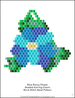 Free brick stitch bead pattern download.