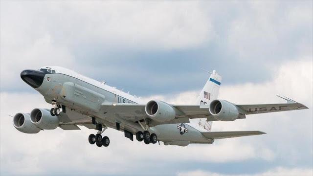 Avión espía de EEUU entra en zona de tensión entre Rusia y Ucrania