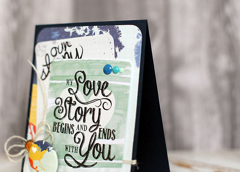 My Love Story Begins and Ends with You | Lea Lawson Creates