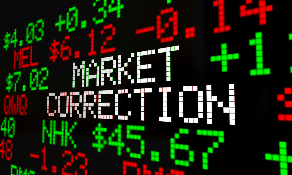 Learning About a Market Correction