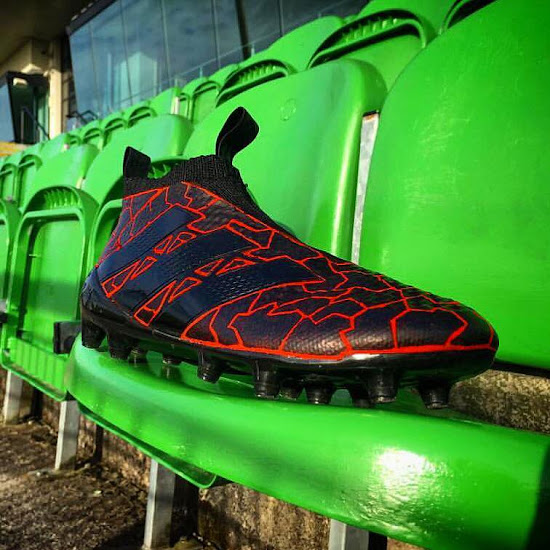timeless design 05a3d 43c97 Insane Custom Adidas Ace PureControl Boots Revealed - Footy ...
