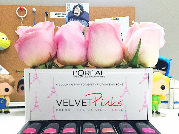 Review: L'Oréal Paris Color Riche Collection Star Velvet Pinks