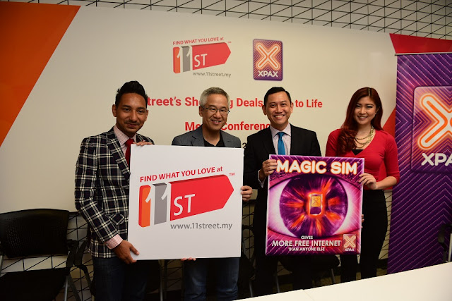 11street Brings Shocking Deals to Life with Xpax (Celcom Axiata Berhad)
