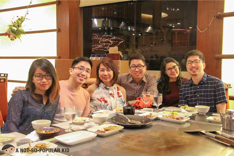 Celebrating mom's birthday in Kimpura Japanese Restaurant - Renz Cheng