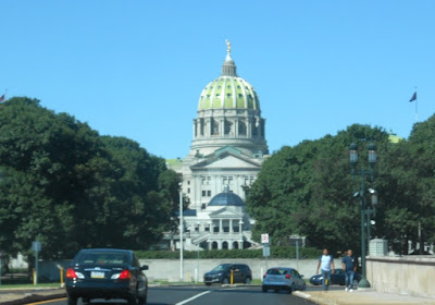Harrisburg State Capitol Building in Pennsylvania