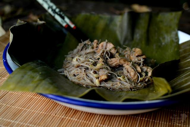 Pad Thai con pollo 03