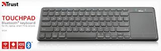 trust tastiera bluetooth con touchpad 22574