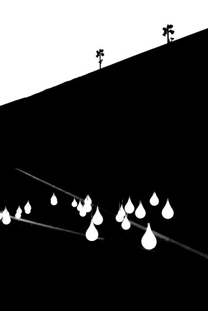 Międzynarodowe Centrum Kongresowe w Katowicach. Polska. Koncept. Abstrakcja. Architektura. Krajobraz. Fotografia czarno-biała. fot. Łukasz Cyrus