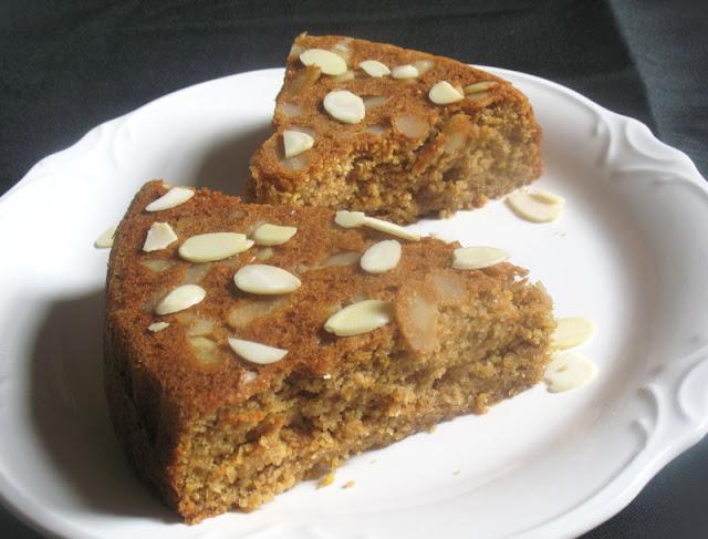 Olive Oil Almond Tea Cake