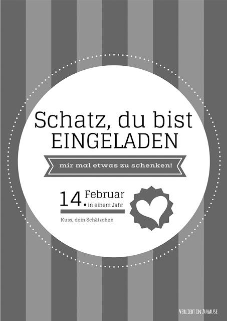 Trendfarbe 2016 lustiges Freebie Valentin schwarz weiß_2