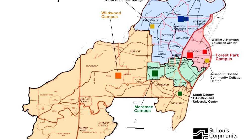 Stlcc Meramec Campus Map.St Louis Community College Wildwood