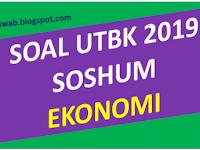 Soal Asli UTBK 2019 Ekonomi dan Pembahasan